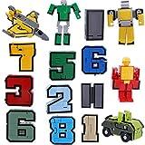 Números De Equipo De Armaduras Transformar Robot De Juguete De Conjunto De Visualización Juego...