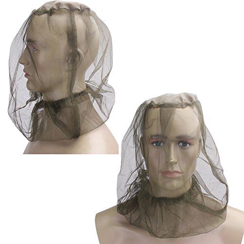 Demiawaking Midge Moskito Insekt Hut Bug Mesh Kopf Net Gesichtsschutz Reisen Camping