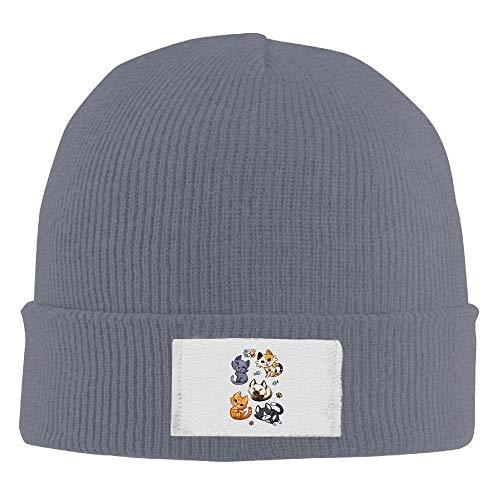 Zhgrong Erwachsenen Mops Schlaf elastische Strickmütze Mütze Winter im Freien warme Schädel Hüte Mode - Gap Kids Classic Shorts