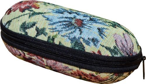 medipaqr-secure-hard-glasses-case-with-elegant-tapestry-style-exterior-holds-two-sets-of-spectacles