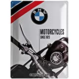 Nostalgic-Art 23201 BMW - Motorcycles Since 1923, Blechschild 30x40 cm