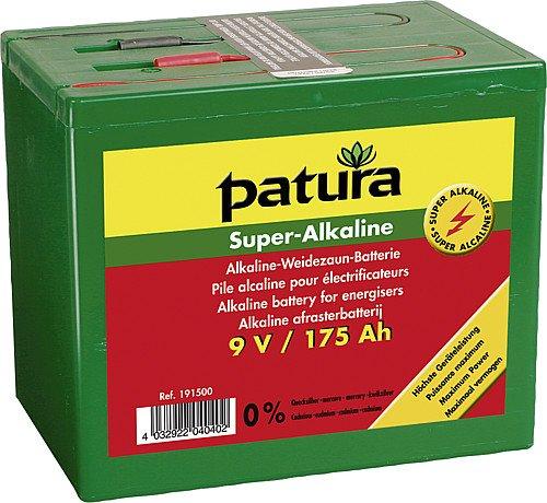 PATURA - BATERIA SUPERALCALINA PARA CERCAS (9 V  200 AH)