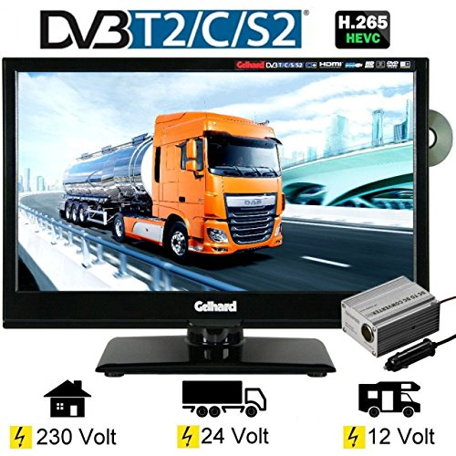 gelhard gtv 1662 led tv 15 6 zoll fernseher dvd dvb s s2. Black Bedroom Furniture Sets. Home Design Ideas