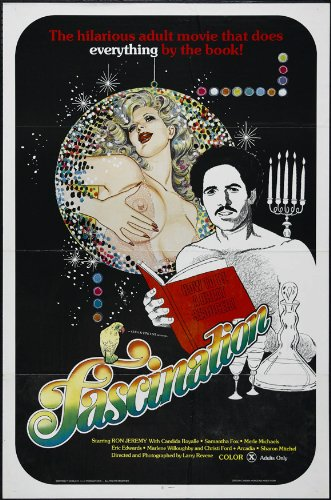 Fascination Poster film, 69 x 102 cm, Ron Jeremy'Tracy Adams Bobbie Burns Adam De Haven Margo DuMont