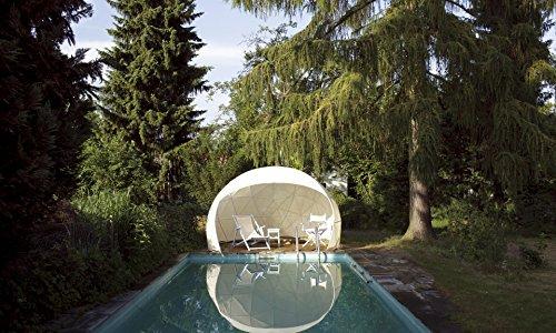 garten iglo Garden-Igloo Sonnenschutz-Bezug für Pavillon / Gewächshaus / Garten Iglu FOUR SEASONS weiß