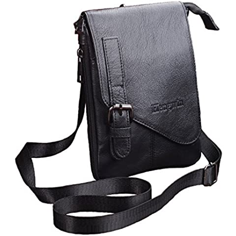 Hengying compacto bolsa Utilidad Gadget Pouch billetera desmontable Cordon para el cuello telefono movil del monedero del bolso de la cintura de la