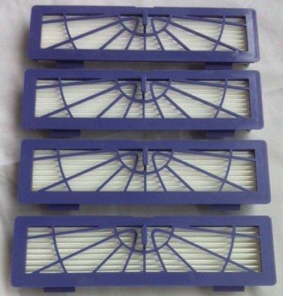 4 XL-Mikro-Hepa-Filter Set für Neato BotVac Serie