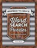 Inspired To Grace Word Search Puzzles: Volume 4 (Christian Books & Bibles)