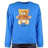 Moschino Herren Sweatshirt Blau blau, Blau XL