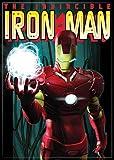 ATA BOY INC Ata-Boy Marvel Comics Invincible Iron Man 6,3x 8,9cm Aimant pour Développement et casiers