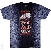 Led Zeppelin Shirt UK Tour 1971 T-Shirt Official Led Zeppelin Merchandise