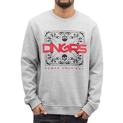 Dangerous DNGRS Homme Hauts / Pullover Egopulli Gris