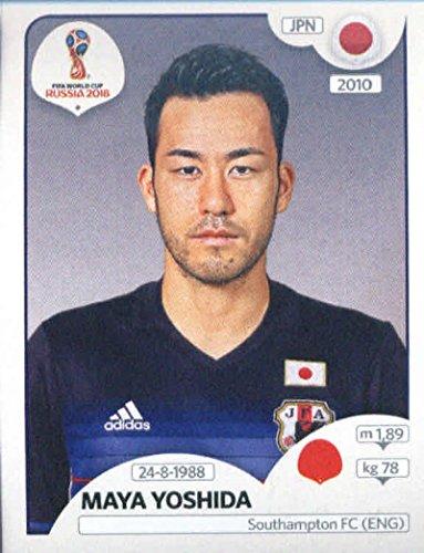 World Cup Aufkleber Russland 2018Panini 661Maya Yoshida Japan Fußball Aufkleber