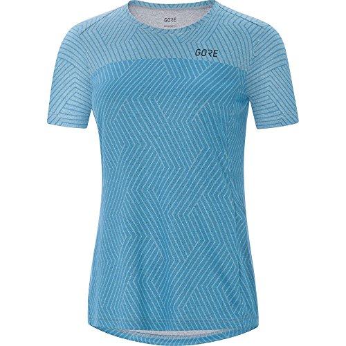 GORE WEAR Damen R3 Optiline Shirt, Dynamic Cyan Melange, 40 Preisvergleich