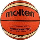 MOLTEN Uni BGR7de e7t Baloncesto, Color Naranja/Ivory, 7