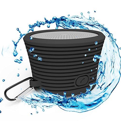 Altavoz Bluetooth Resistente al Agua – Portátil y Resistente con Micrófono Incorporado