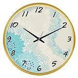 JYT-GZ Decoración del hogar Personalidad Creativa Reloj Moda, Sala de Estar, muda, Reloj de Cuarzo Creativo, Mesa para Colgar (Color: E) Accesorios de Moda para el hogar (Color : D)