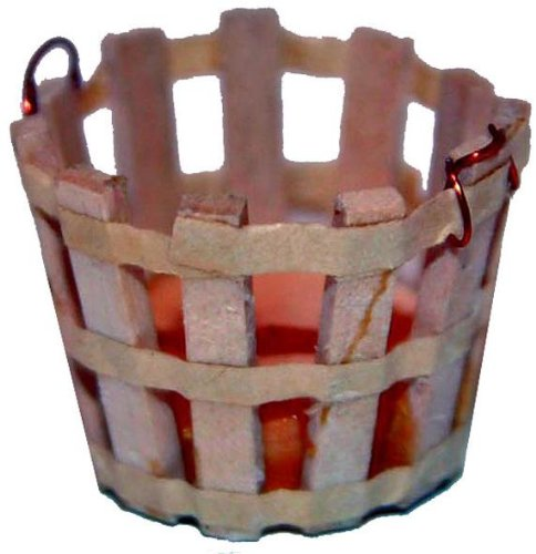 Krippenzubehör, Holzkorb, Höhe 2cm