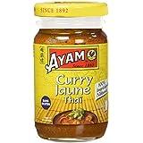 AYAM Pâte de Curry Jaune - Lot de 4