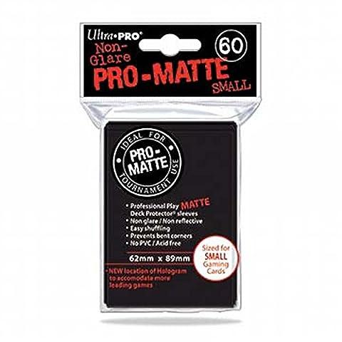 Ultra Pro 84021 - Small Sleeves - Matte - 60, Schwarz