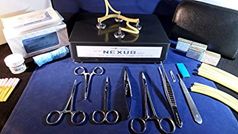 Suturing Practice Kit - NEXUS PRO Edition (Various Colours Available) - Sigma Lance's Tendon / Vessel Anastomosis Suture kit (GUNMETAL)