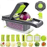 HXVegetable Cutter Cucina affettatrice della frutta della taglierina della patata Peeler carota Grattugia di verdure affettatrice