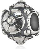 Trollbeads Damen-Bead Christrose 925 Sterling Silber TAGBE-10021