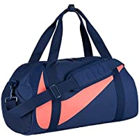 Nike Kids' Gym Club Duffel Bag, Color Navy/Navy/Hot Punch, Talla MISC