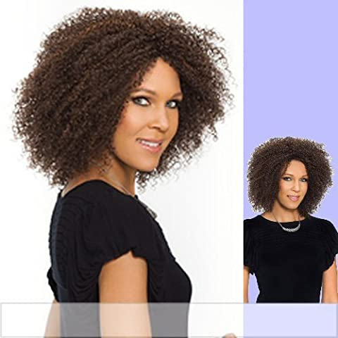TANAY (Carefree Collection) - Synthetic Full Wig in DARKEST BROWN by Carefree Collection