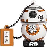 Tribe Star Wars 8 BB8 USB Stick 16 GB Speicherstick 2.0 High Speed Pendrive Memory Stick Flash Drive, Lustige Geschenke 3D Figur, USB Gadget aus Hart-PVC mit Schlüsselanhänger
