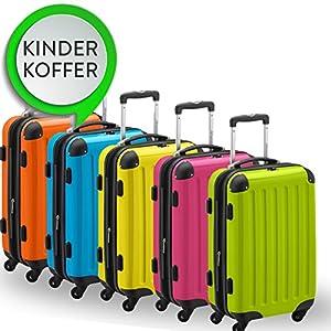 HAUPTSTADTKOFFER® KINDERKOFFER · Hartschalenkoffer · Verschiedene Farben · TSA oder Zahlenschloss