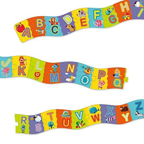 SPFTOY Kinder Brocken frühe Bildung Alphabet Anerkennung 2 Meter Boden Puzzle