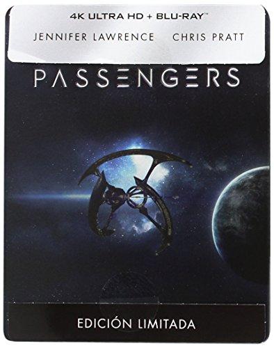 Passengers (4K UHD + BD) (Edición Especial Metálica) - Exclusiva Amazon [Blu-ray]