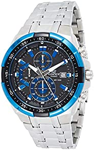 Casio Edifice Men's Black Dial Stainless Steel Chronograph Watch - EF-539D-