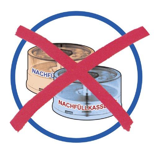 Geruchsdichter Windeleimer Diaper Champ regular magenta – für normale Müllbeutel - 4