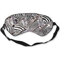 Natural Silk Eyes Mask Sleep Zebra Herd Art Blindfold Eyeshade with Adjustable for Travel,Nap,Meditation,Sleeping... preisvergleich bei billige-tabletten.eu