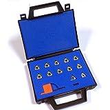 Juego de 10placas para cortar roscas + 2arandelas placas 19599001ye3–6C + yi3–6C