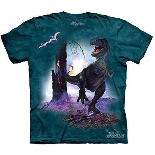 """The Mountain Kinder T-Shirt """"Rex"""" Blau"""