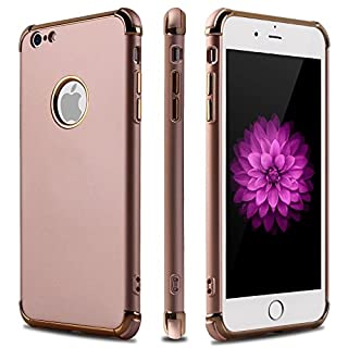 AirFit CORNER Case For iPhone 7 8 Hybrid Reinforced FlexiCorner Bumper Cover Of Latest Style. In Rose Gold And Gold. Reinforced Corners With Enhanced Body Strength Overall. Ideal Protection. Gentle