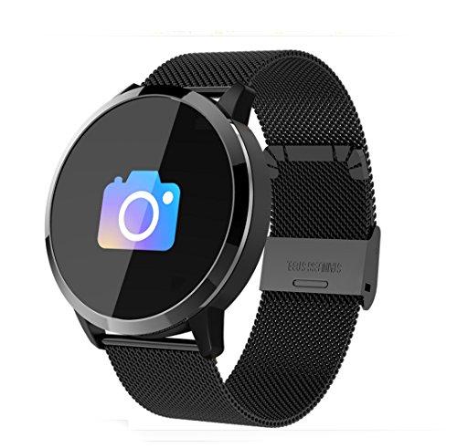 Fitness Tracker Pulsmesser Tracker Smart Armband Activity Tracker Bluetooth Schrittzähler Mit Schlaf-Monitor Smart Watch Für Erwachsene Kinder (Farbe : 05) - Kalorien Zähler-monitor