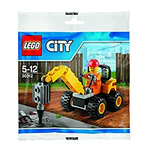 LEGO City Demolition Driller (30312)  LEGO