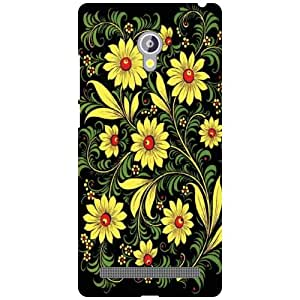 Back Cover For Asus Zenfone 6 A601CG -(Printland)