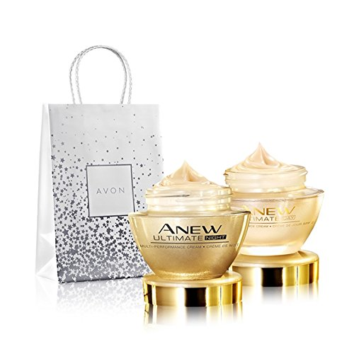 Avon Anew Ultimate Set Tages- u. Nachtcreme 50+ in schöner Geschenktasche UVP 70 € !!