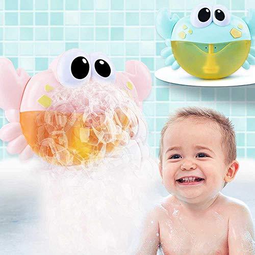 (Badewannenspielzeug, Blase Badespielzeug Bubble Krabbe Badewanne Blase Maschine Wasserspielzeug Blasen Automatisch-Sprühen mit 12 Musik Lied für Kinder Geschenk)