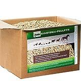 Jumbogras Kleintier-Einstreu-Pellets Miscanthus/Elefantengras für Hasen+Kaninchen+Maus+Vogel+Meerschweinchen, statt Stroh- u. Sägespänen für Käfig & Stall (10 kg)