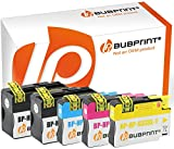 Bubprint 5 Druckerpatronen kompatibel für HP 932XL 933XL für Officejet 6100 e-Printer 6600 e-All-in-One 6700 Premium 7110 7510 7610 7612 Wide Format