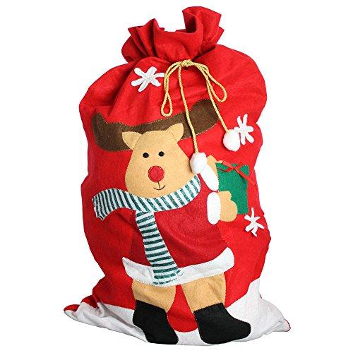 EBuyGB Gigante de Papá Noel Renos de Santa Claus