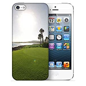 Snoogg Sunlight In Golf Park Designer Protective Phone Back Case Cover For Apple Iphone 5
