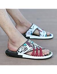 Im Sommer, Baotou Badeschuhe, Hausschuhe, Sandalen, der Trend Sommer Herren Hausschuhe, 38 Yards, Braun