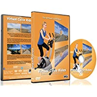 Virtual Cycle Rides - Coastal Landscape - For Indoor Cycling, Treadmill and Running Workouts